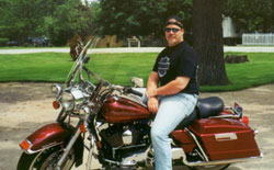 Chad's 2000 Harley Road King